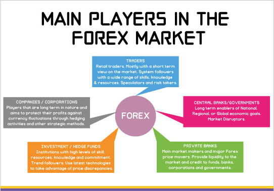 Players In Forex Market